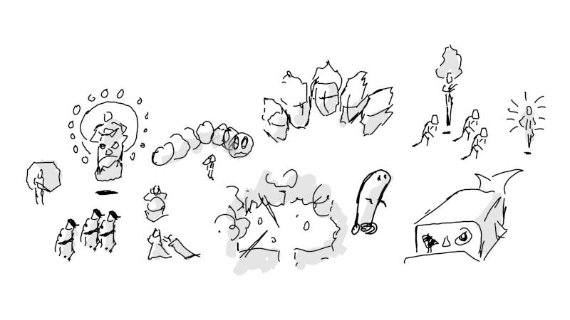 All Resolutiion boss-sketches
