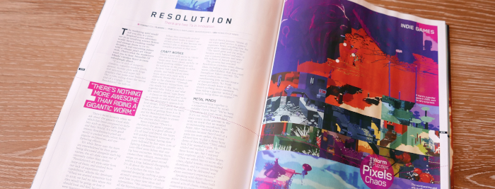 PlayStation Official Magazine Interview